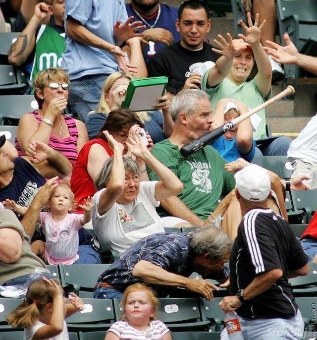 Dokonalá momentka z baseballu
