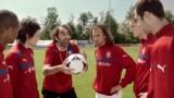 Česká fotbalová reprezentace trénuje